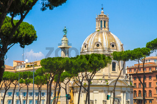 A historic church in Rome, Italy