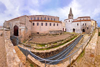 Euphrasian Basilica in Porec panoramic view