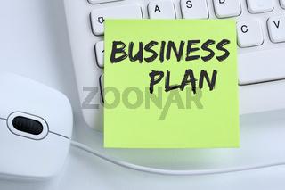 Business Plan Businessplan Analyse Strategie Erfolg Firma Unternehmen Konzept Maus