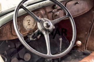 wheel car of mid-20th century.