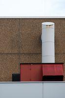 Lüftungshauben öffentliches Gebäude