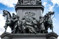 Reiterstandbild Alter Fritz in Berlin