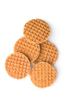 Sweet waffle biscuits.