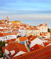 Lisbon Old Town , Portugal