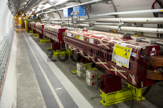 The Large Hadron Collider in CERN