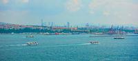 The Bosporus in Istanbul