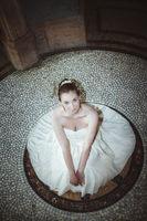 Glüchliche junge Braut