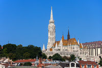 Matthias Church and Fisherman Bastion in Budapest