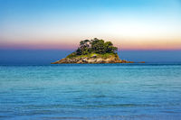 Atlantic coast with island