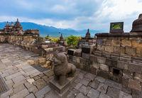 Borobudur Buddist Temple - island Java Indonesia