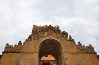 Maratha Entrance, First entrance, Brihadisvara Temple, Tanjore, Tamil Nadu