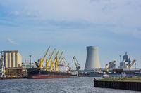 Hafen von Rostock Warnemünde