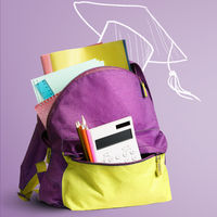 Back to school backpack.