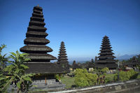 Gopuras or towers of Pura besakih temple, Indonesia