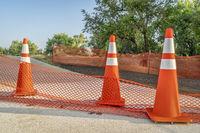 bike trail closure for construction