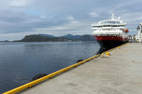 Schiffsanleger der Hurtigruten Ålesund