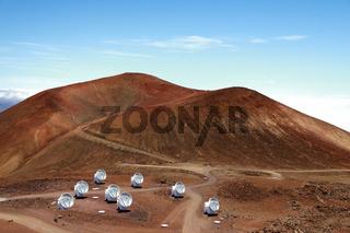 Mauna Kea telescopes , Big Island, Hawaii