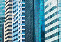 Background business architecture skyscraper Singapore
