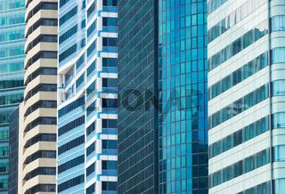 Background business architecture skyscraper Singapore