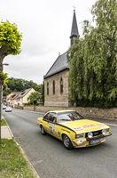 Opel Commodore B GS/E  bei der 24. ADAC Oldtimerfahrt am 2.6.2018 in Ranis, Thüringen