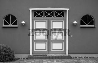 Fassadendetail in Alt Reddevitz