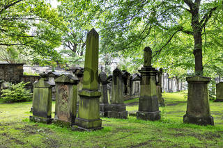 alter Friedhof in Edinburgh, Schottland