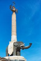 Black elpehant - symbol of the city of Catania