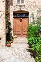 typical italian door