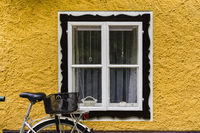 Bike at home in the Austrian city of Hallstatt