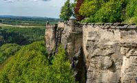 Die Festung Königsstein in Sachsen