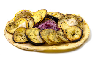 Potatoes with quyruq