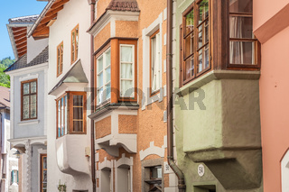Historic houses in the old town of Klausen
