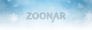 Weihnachten Hintergrund Schnee Banner Winter Dekoration Schneeflocke Textfreiraum Copyspace
