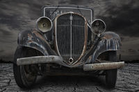 Oldtimer Rostlaube