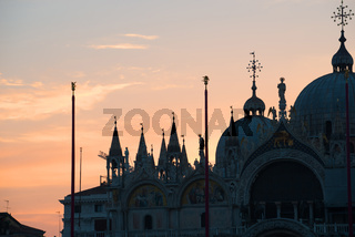 Palazzo Ducale at sunrise