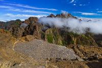 Viewpoint Pico do Arierio and Pico Ruivo - Madeira Portugal
