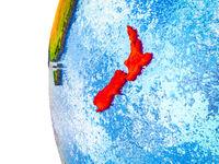 New Zealand on 3D Earth