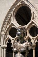 Kunst, Kathedrale St. Etienne, Toul, Lothringen, Frankreich
