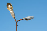 Old street lamps