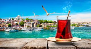 Tea in Golden Horn