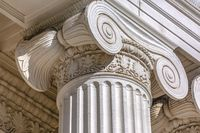 Details of architectural column of government