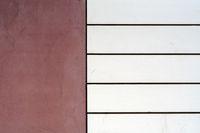Moderne Fassadenverkleidung aus Sandstein