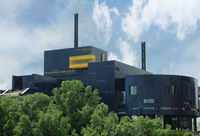 MINNEAPOLIS,MN/USA - 7-09-2018: The Guthrie Theater in downtown Minneapolis