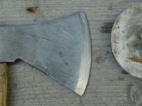 sharp ax blade