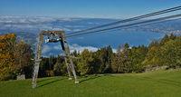 Pfänderbahn bei Bregenz am Bodensee