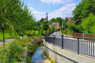 Kamenz in Sachsen, Deutschland - the town Kamenz, Saxony in Germany