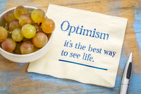 optimism - best way to see life