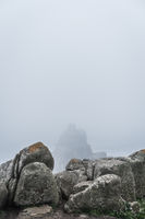 Large boulders on the coast in Lands End