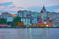 Karakoy quayside in Istanbul