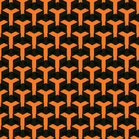 Seamless Geometric Pattern from Shape Intersections